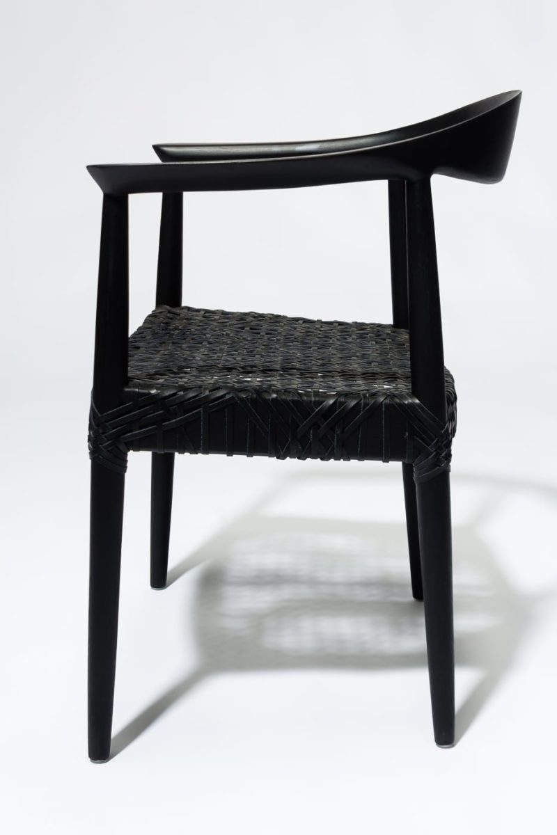 Alternate view 3 of Moore Black Chair