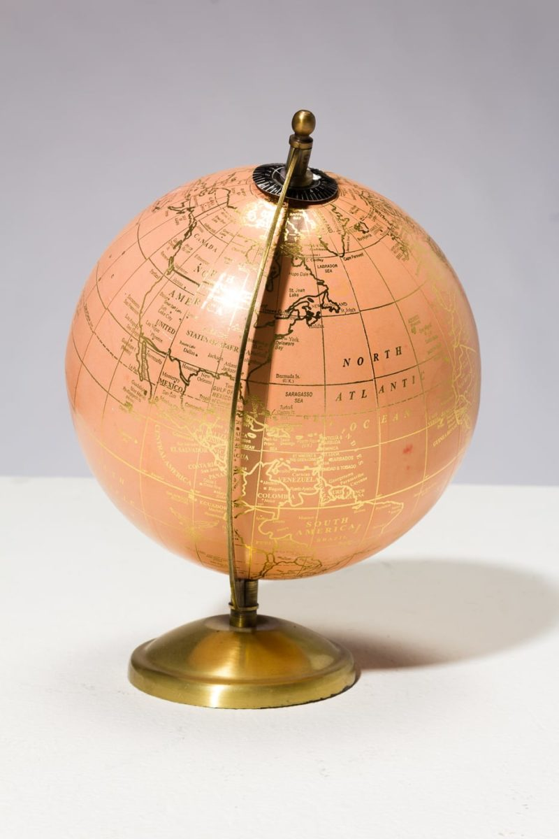 Alternate view 2 of Peach and Gold Globe