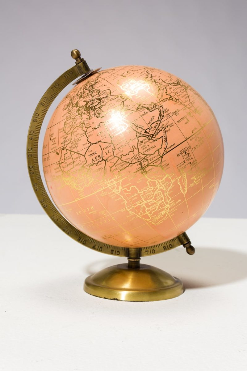 Alternate view 3 of Peach and Gold Globe