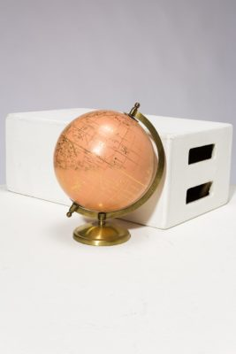 Alternate view 4 of Peach and Gold Globe