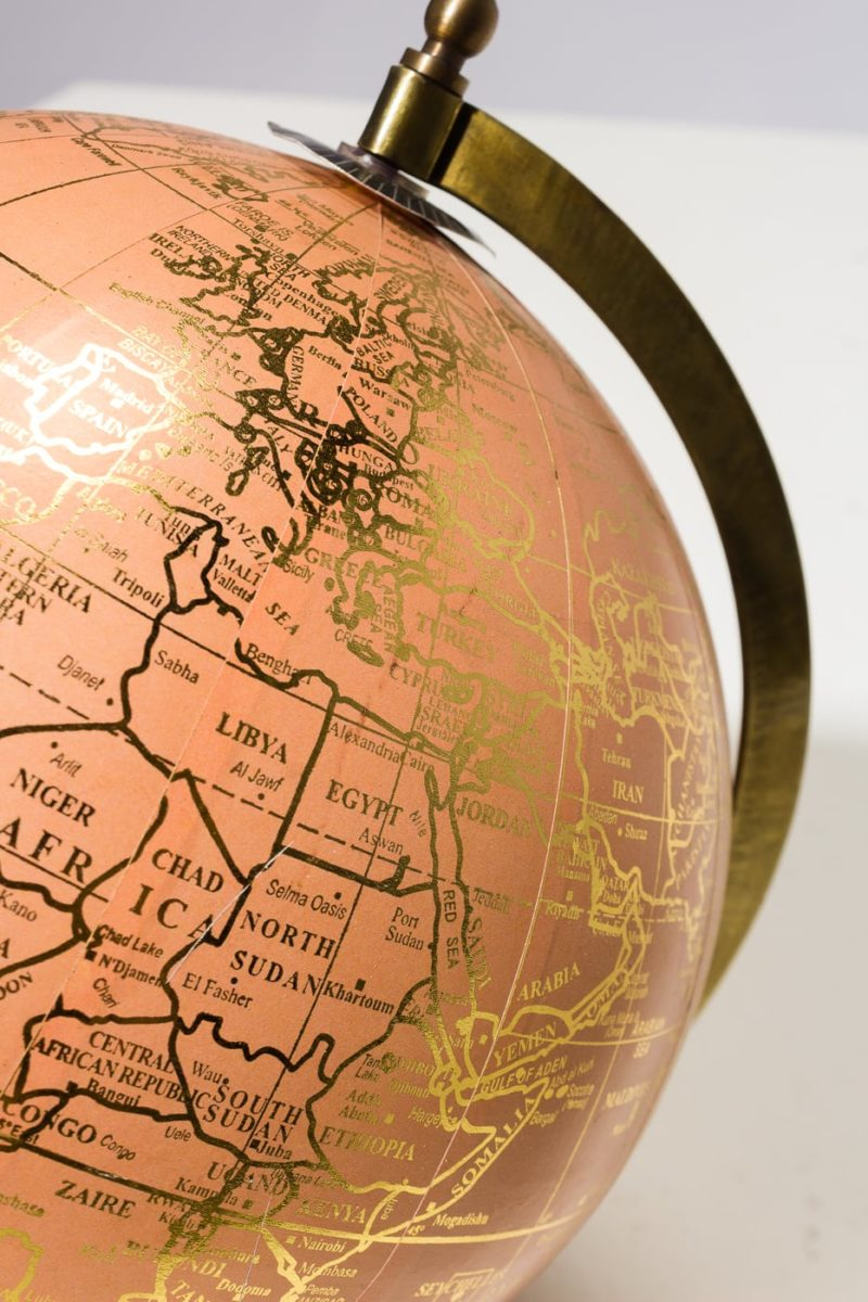 Alternate view 1 of Peach and Gold Globe