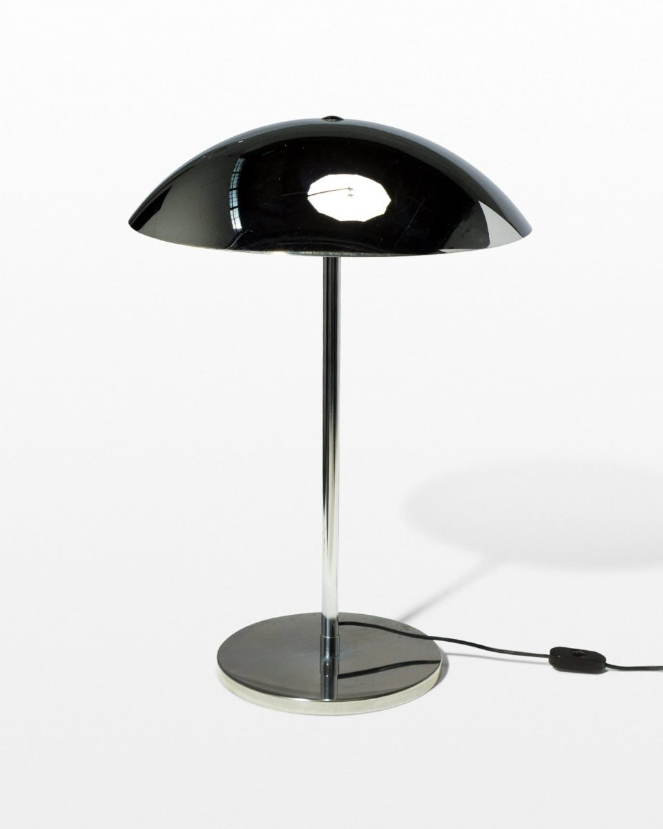 Front view of Chrome Dome Lamp