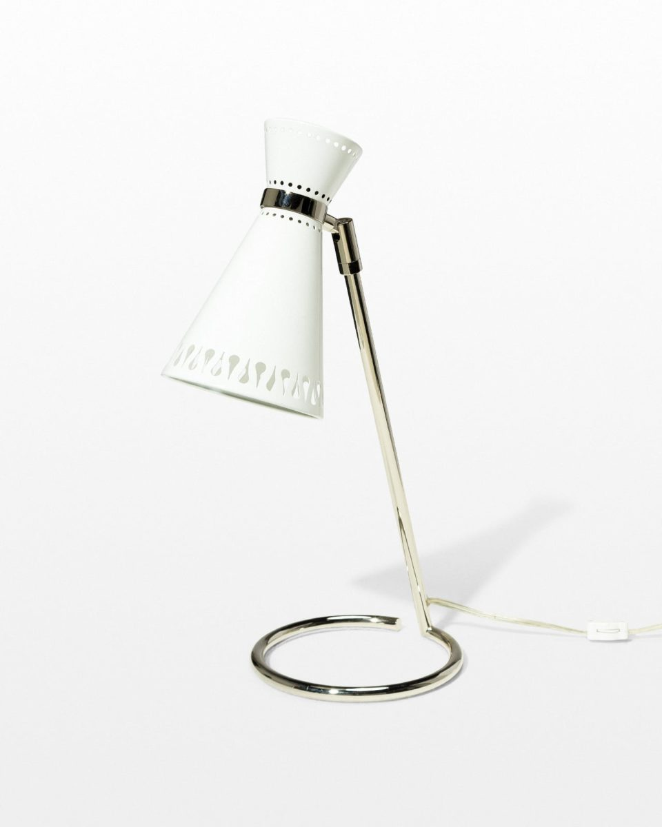 Front view of Perch Cone Task Lamp