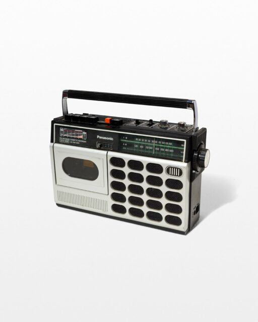 Front view of Piper Cassette Player Radio