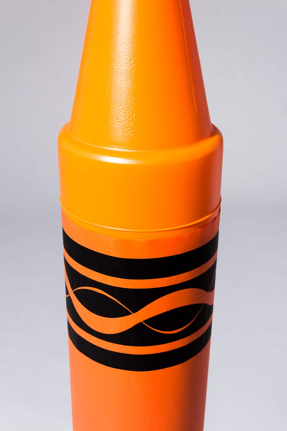 Os002 Oversized 52 Quot Orange Crayon Prop Rental Acme Brooklyn