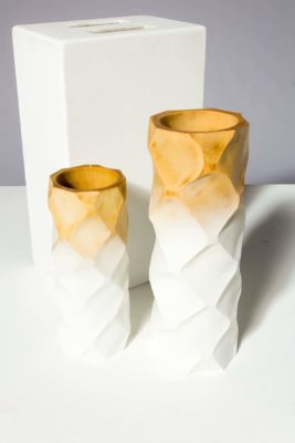 Alternate view 1 of Ombre Wooden Vase Set