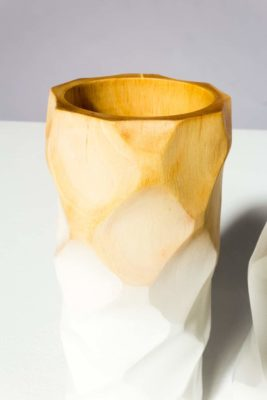 Alternate view 2 of Ombre Wooden Vase Set