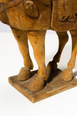 Alternate view 2 of Dilling Wooden Horse Sculpture