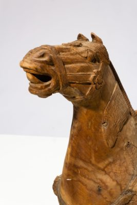 Alternate view 1 of Dilling Wooden Horse Sculpture