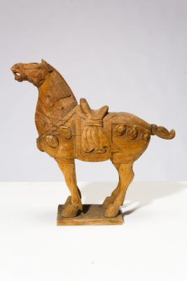 Alternate view 3 of Dilling Wooden Horse Sculpture