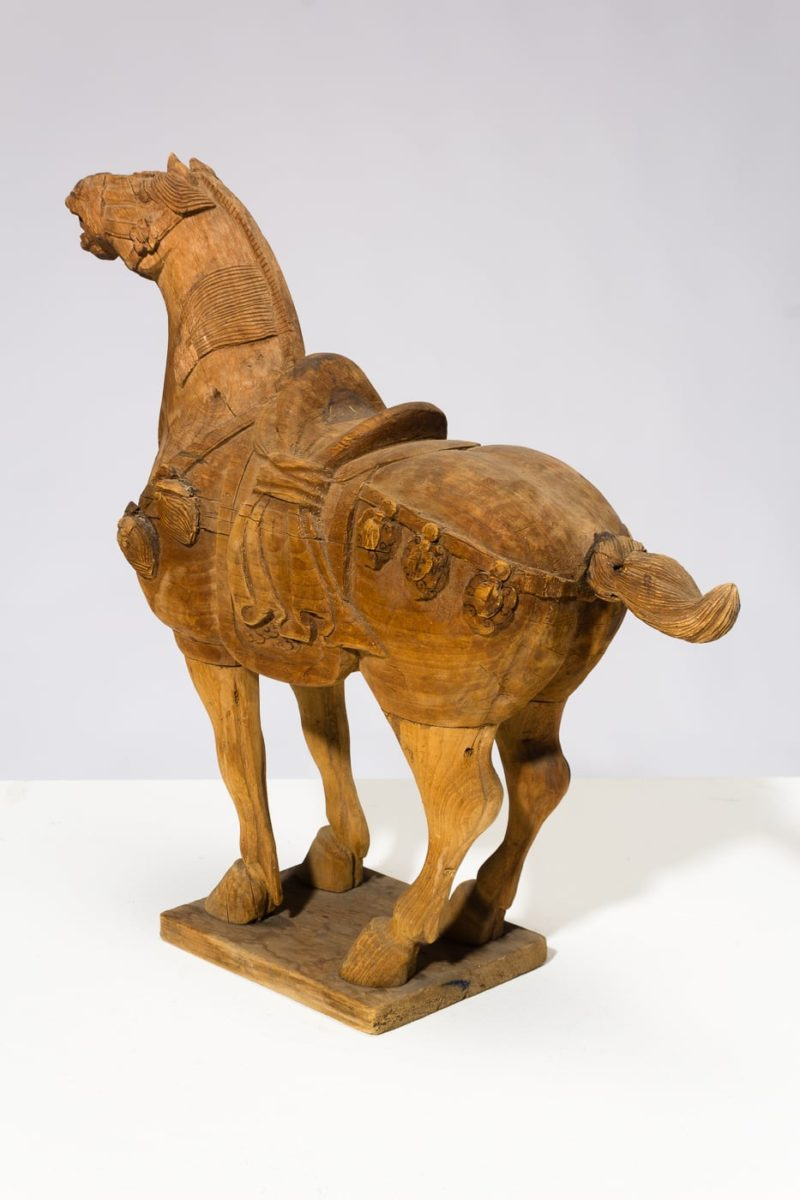 Alternate view 5 of Dilling Wooden Horse Sculpture