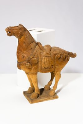 Alternate view 6 of Dilling Wooden Horse Sculpture