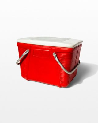 Front view of Marie Red Cooler