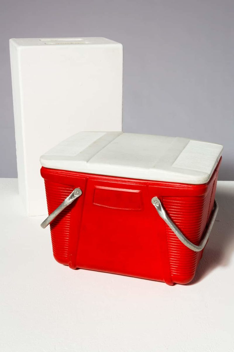 Alternate view 1 of Marie Red Cooler