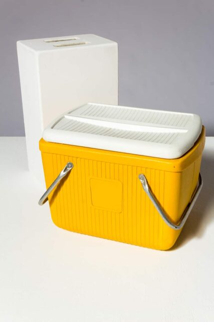 Alternate view 1 of Roman Yellow Cooler