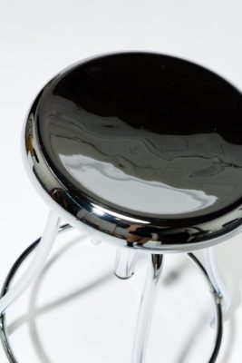 Alternate view 1 of Coach Chrome Adjustable Stool