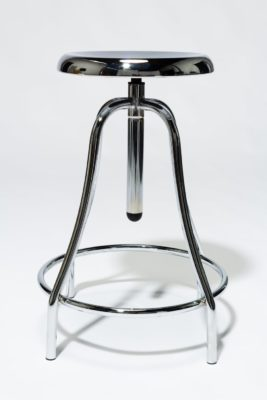 Alternate view 4 of Coach Chrome Adjustable Stool