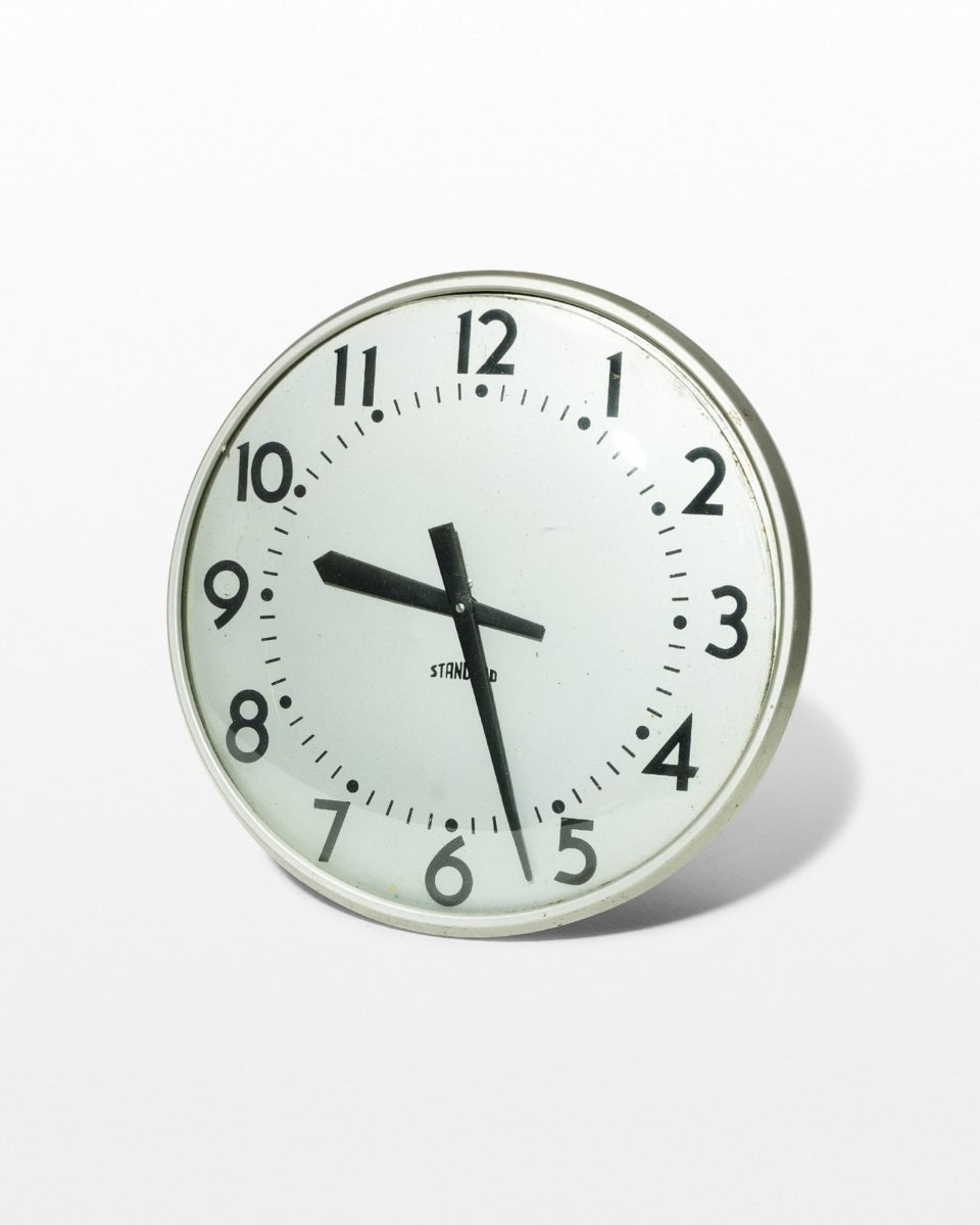 Front view of Standard Wall Clock
