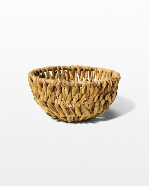 Front view of Lyme Woven Basket