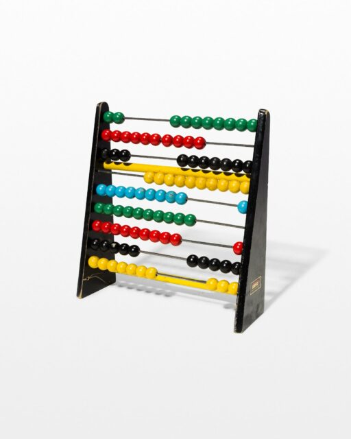 Front view of Primary Abacus