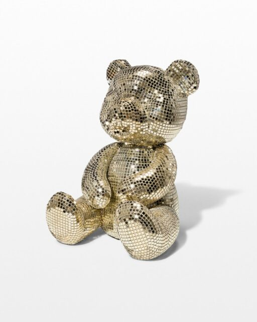 Front view of Disco Teddy Bear