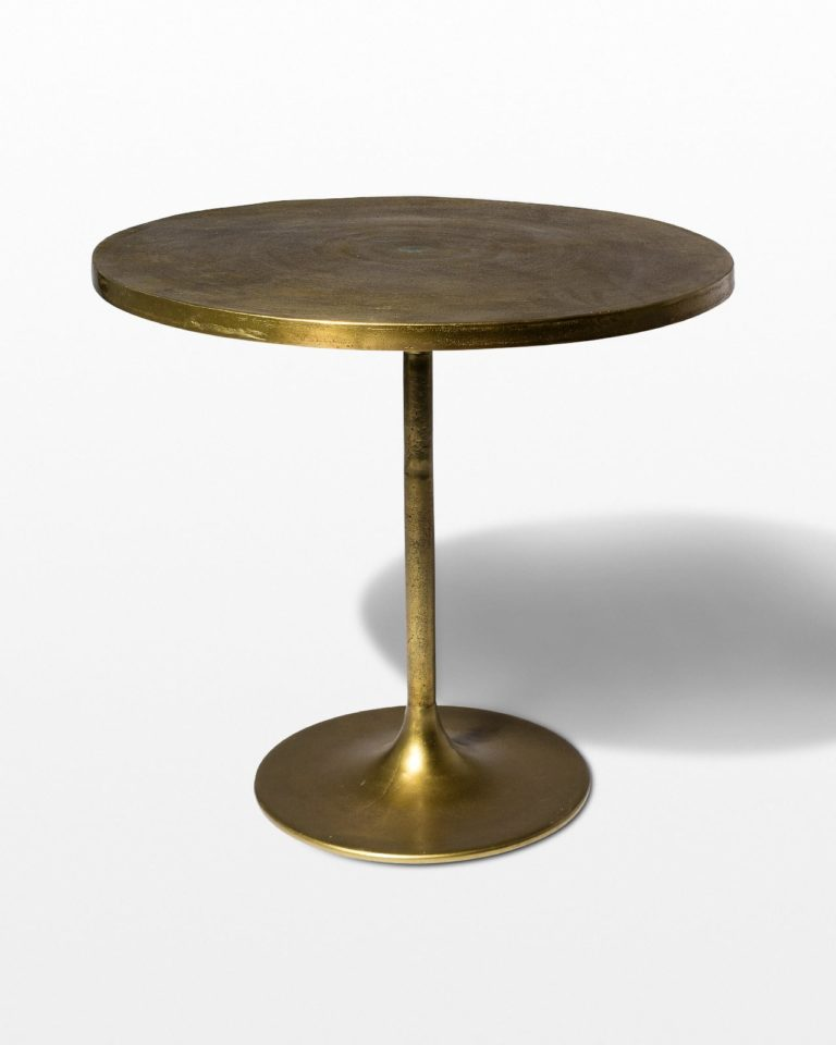Front view of Gild Tulip Dining Table