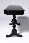 Alternate view thumbnail 2 of Nickel Black Console Table