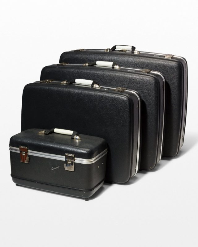 Front view of Hewes Luggage Set