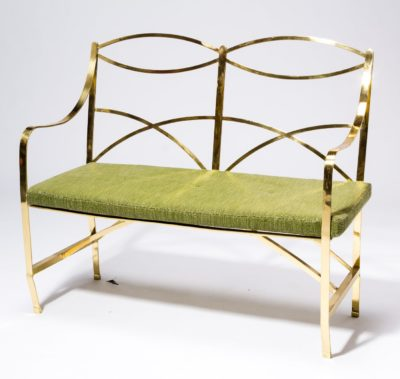 Alternate view 1 of Barb Brass Metal Bench