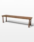 Front view thumbnail of Willow Classic Wood Bench