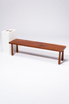 Alternate view 2 of Martin Wood Bench