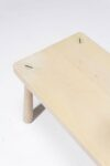 Alternate view thumbnail 1 of Haven Blond Wooden Bench