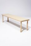 Alternate view thumbnail 4 of Haven Blond Wooden Bench