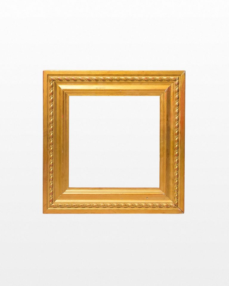 "Front view of 26"" x 26"" Paintable Mellon Frame"