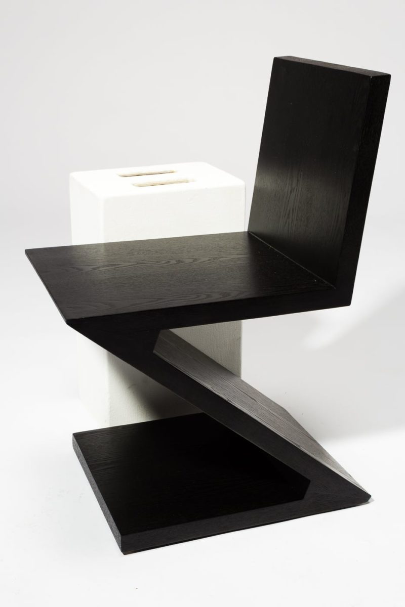 Alternate view 2 of Waldorf Black Wood Z Chair