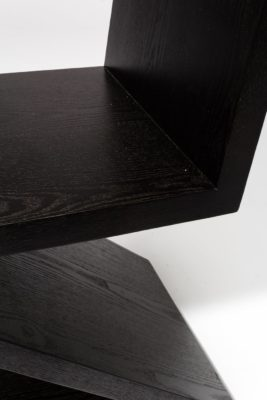 Alternate view 1 of Waldorf Black Wood Z Chair