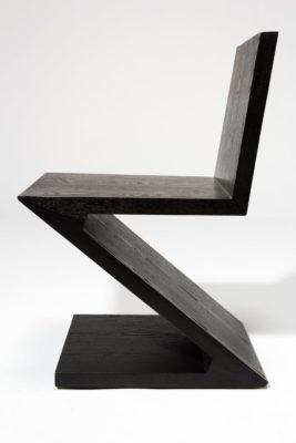 Alternate view 3 of Waldorf Black Wood Z Chair