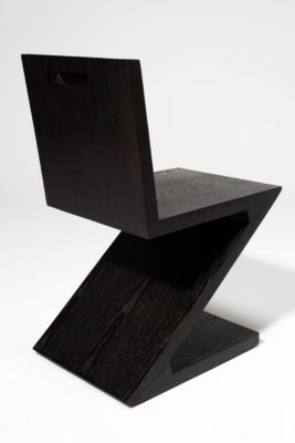 Alternate view 4 of Waldorf Black Wood Z Chair