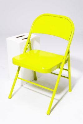 Alternate view 1 of Chartreuse Folding Chair