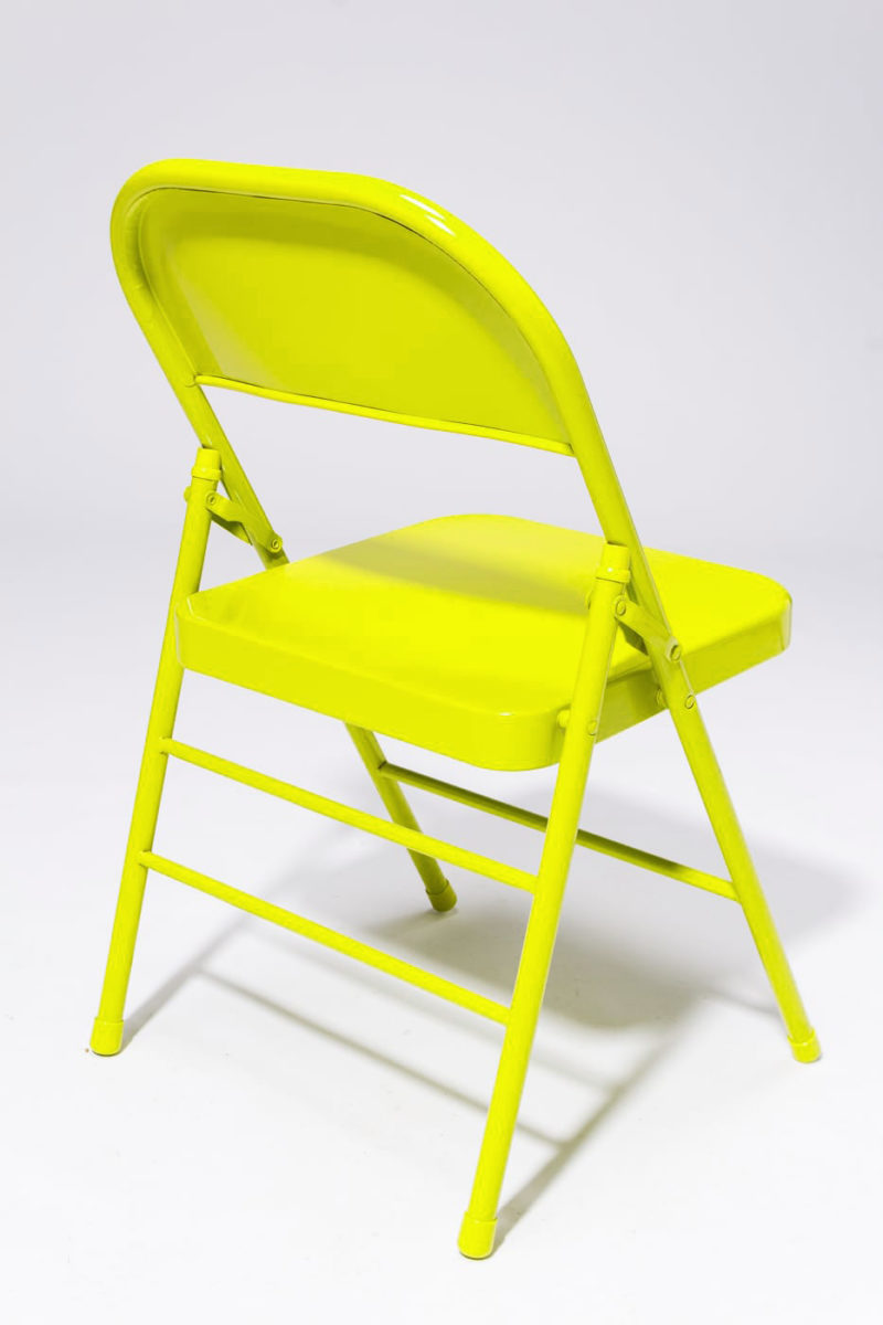 Alternate view 3 of Chartreuse Folding Chair