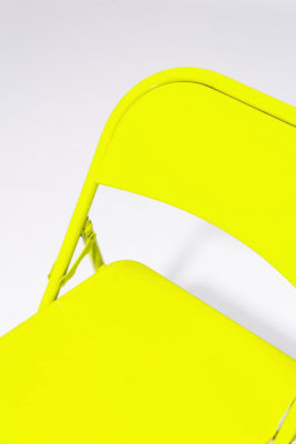Alternate view 4 of Chartreuse Folding Chair