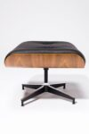 Alternate view thumbnail 6 of Black Eames-Style Lounge Chair and Ottoman