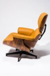 Alternate view thumbnail 5 of Brown Eames-Style Lounge Chair and Ottoman