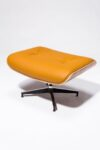 Alternate view thumbnail 7 of Brown Eames-Style Lounge Chair and Ottoman