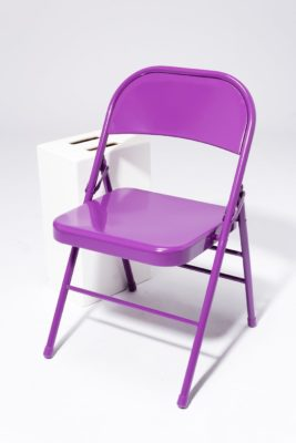 Alternate view 2 of Purple Folding Chair