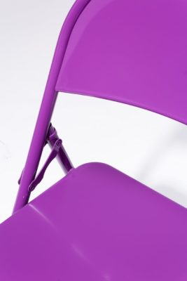 Alternate view 1 of Purple Folding Chair