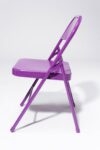 Alternate view thumbnail 3 of Purple Folding Chair
