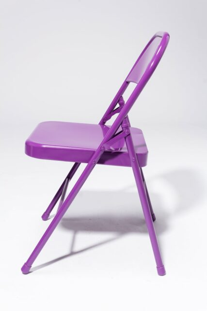 Alternate view 3 of Purple Folding Chair