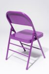 Alternate view thumbnail 4 of Purple Folding Chair