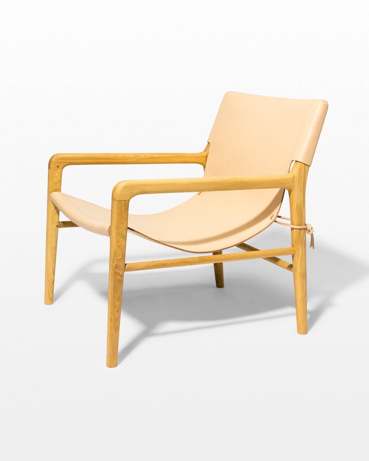 Miraculous Ch601 Cad Blush Leather Sling Safari Chair Prop Rental Cjindustries Chair Design For Home Cjindustriesco